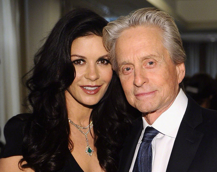 Catherine Zeta And Michael Douglas