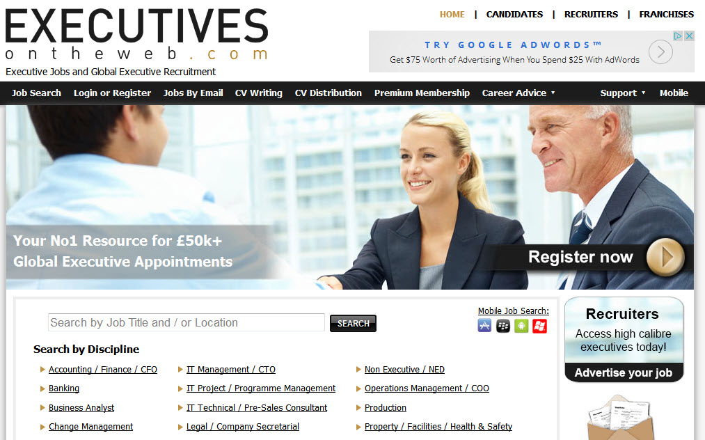 ExecutivesOnTheWeb