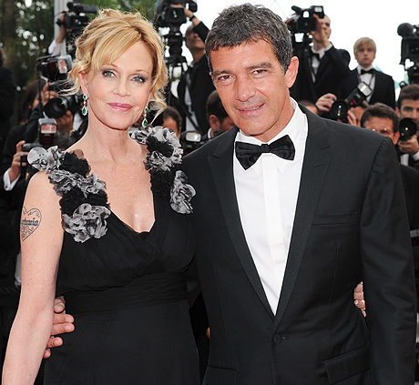 Melanie Griffith And Antonio Brendars