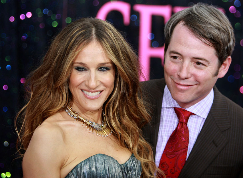 Sarah Jessica And Mathew Broderick