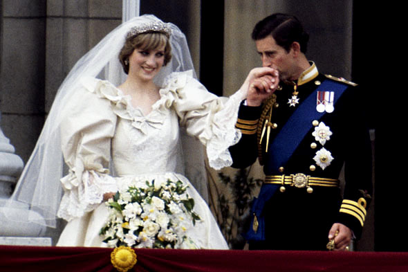 Lady Diana's Wedding To Prince Charles Of Whales