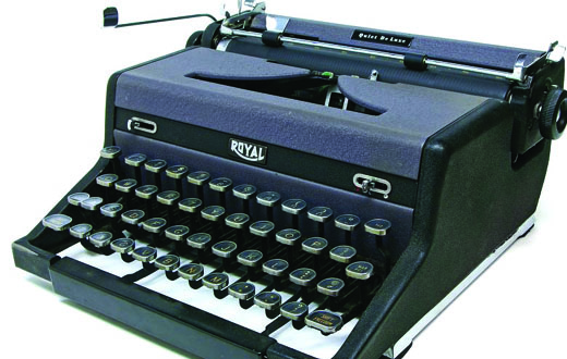 The Manual Typewriter